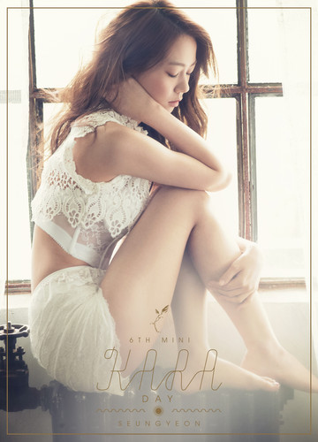 KARA 바탕화면 possibly with a chemise, attractiveness, and a 란제리 entitled KARA Seungyeon 'Day & Night' Teaser HQ