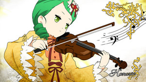 Kanaria with a Violin