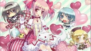 Kawaii madoka and friends