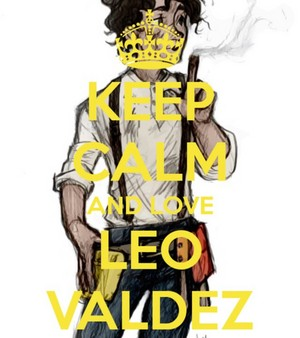 Keep Calm And upendo Leo Valdez