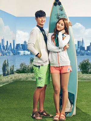 Kim Soo Hyun for a 'Bean Pole'