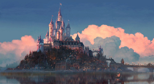 tangled wallpaper called Kingdom of Corona Concept Art