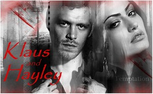 Klaus and Hayley