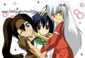 Koga InuYasha and kagome