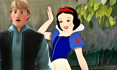 disney crossover fondo de pantalla possibly with a business suit and anime called Kristoff and Snow White