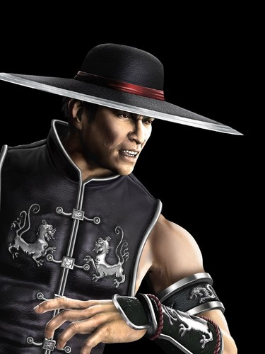 Mortal Kombat kertas dinding called Kung Lao: Shaolin Warrior Monk