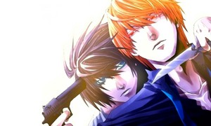 এল-মৃত্যু পত্র Lawliet and Light Yagami