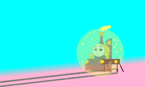 Tomy Thomas And Friends wallpaper entitled Lady's returning out of the Buffers