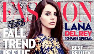 Lana Del Rey FASHION MAGZINE!
