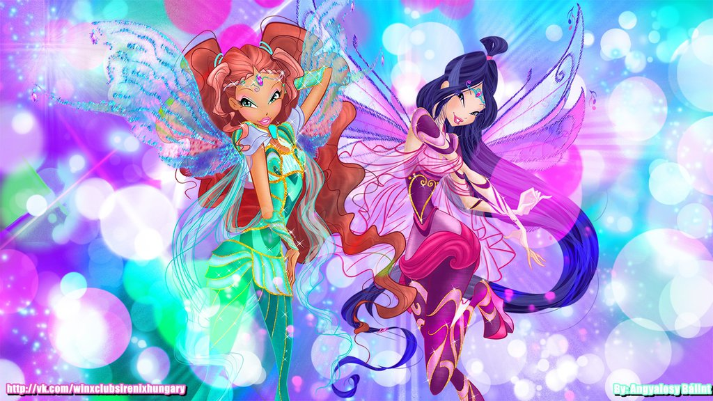 Layla / Aisha and Musa Bloomix wallpaper