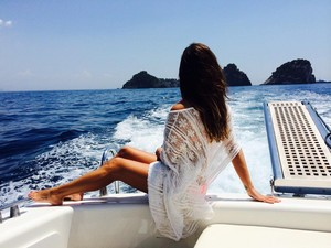 Lea Michele Italy