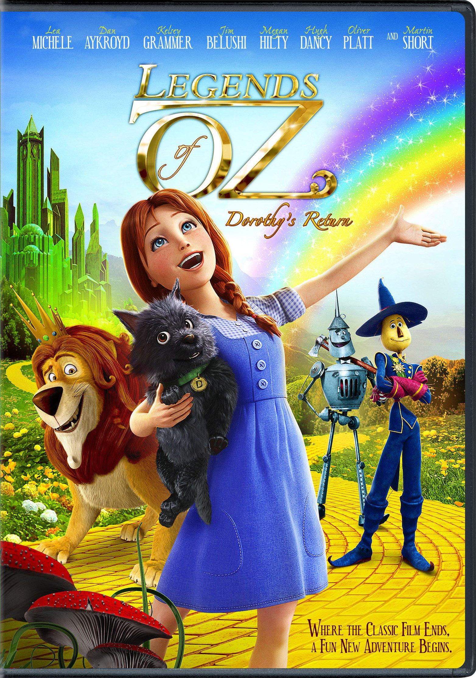 Legends of Oz: Dorothy's Return DVD Cover