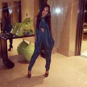 Leigh last night