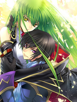 Lelouch and C.C. | CODE GEASS