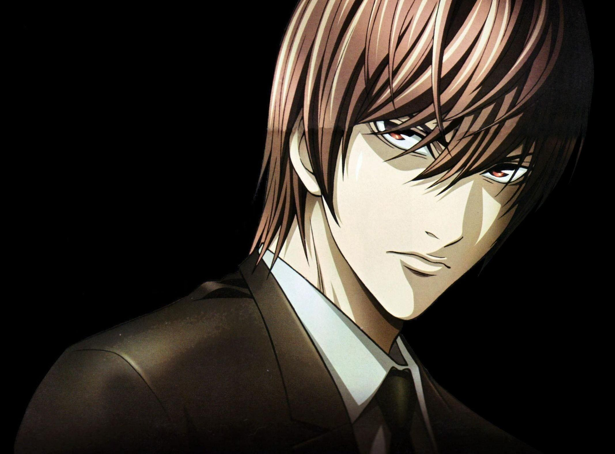 Deathnote illustration Death Note Yagami Light Lawliet