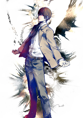 Light Yagami wallpaper probably with a ski resort titled Light Yagami