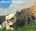 Lilly and Humphrey - alpha-and-omega fan art
