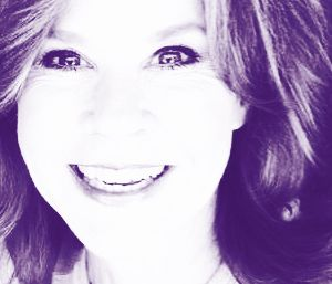 The Linda Blair Pretty Corner kertas dinding with a portrait called Linda Blair