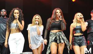 Little Mix at Hallam FM Summer Live (18/07/2014)