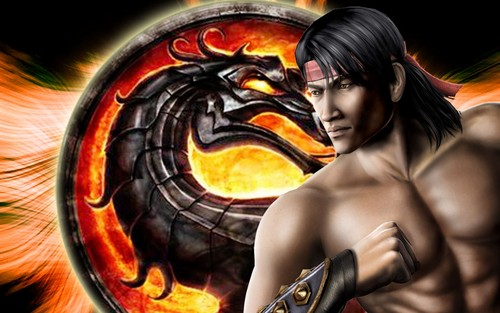 Mortal Kombat kertas dinding possibly with a roulette wheel entitled Liu Kang: Shaolin Warrior Monk