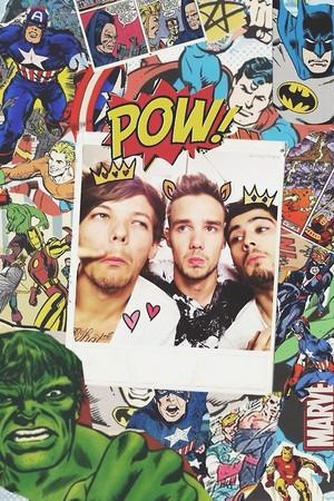 Louis,Liam,Zayn