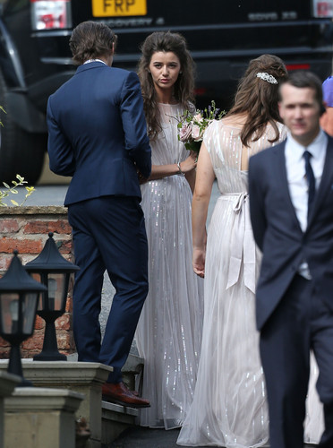 Louis Tomlinson hình nền with a business suit, a dress suit, and a suit called Louis and Eleanor at Johannah and Dan's wedding. 20/07/14