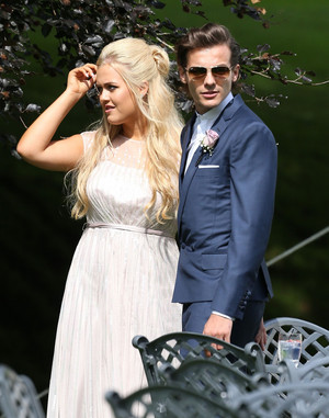 Louis and Lottie at Johannah and Dan's wedding. 20/07/14