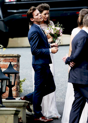 Louis at Johannah and Dan's wedding (20.07.2014) - x