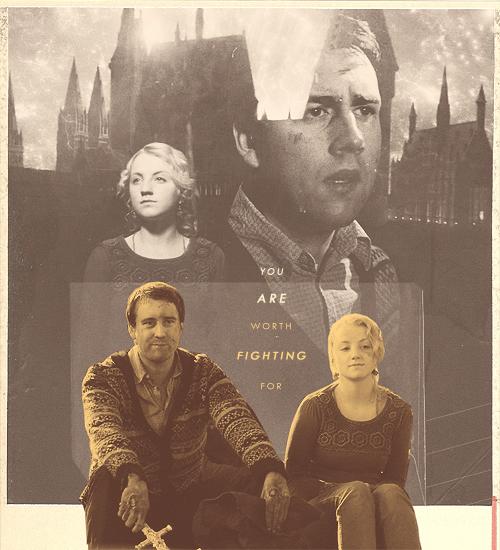 Luna And Neville Fanart