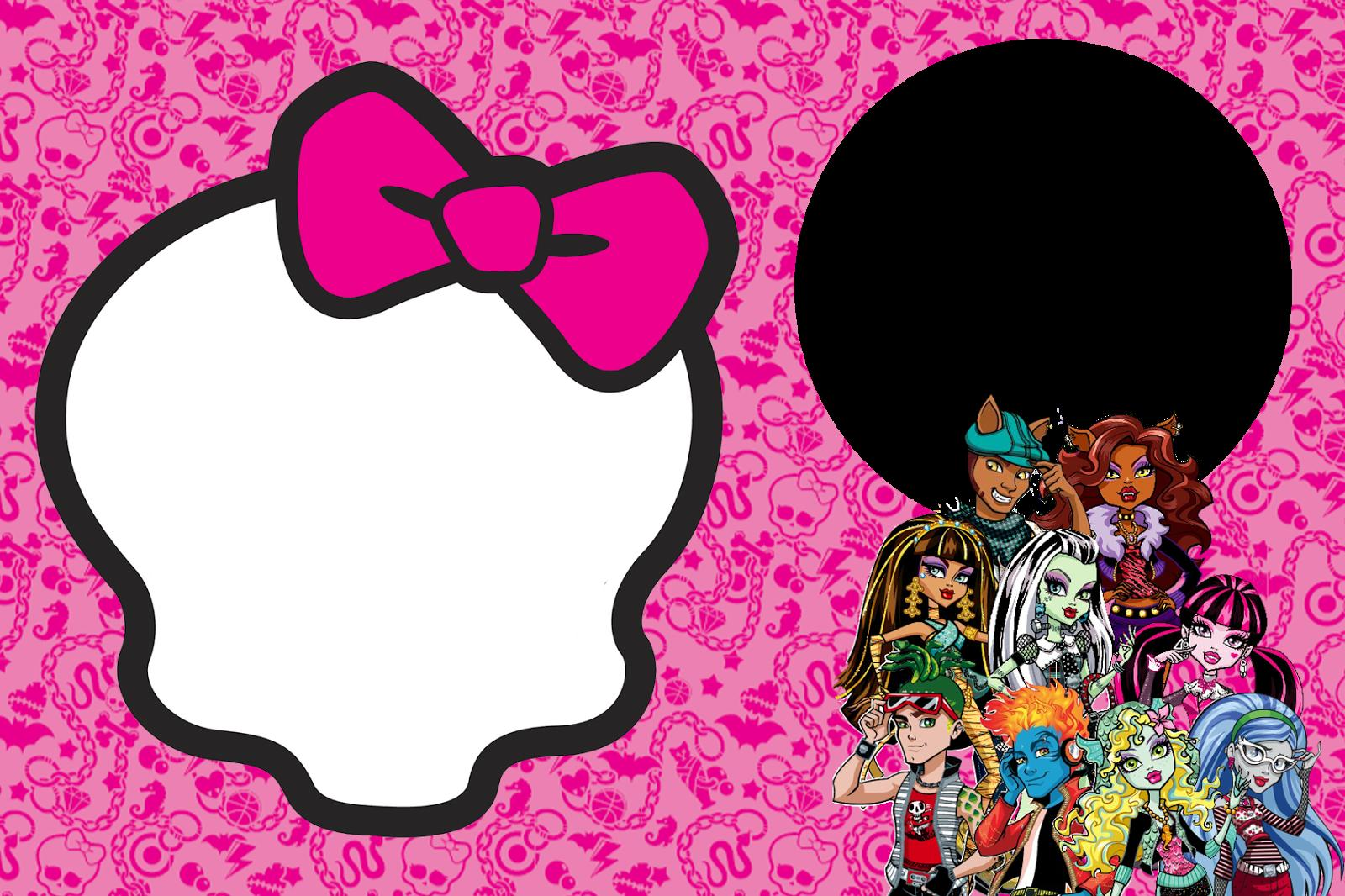 Monster High Images Monster High Template Hd Wallpaper And