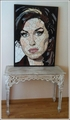 Made from hundreds of tiny tiles fragments.  - amy-winehouse photo