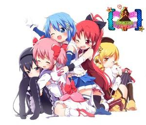Madoka and friends