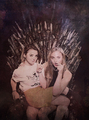 Maisie Williams and Sophie Turner - game-of-thrones fan art