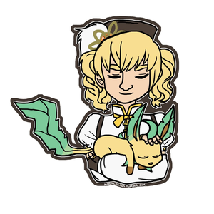 Mami and Leafeon