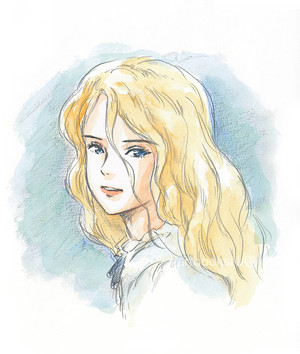 Marnie illustrated sa pamamagitan ng Studio Ghibli director Hiromasa Yonebayashi