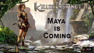 Maya conceptual artwork