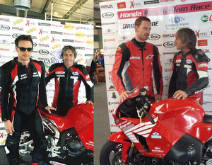 McFassy at the Ron Haslam Race School