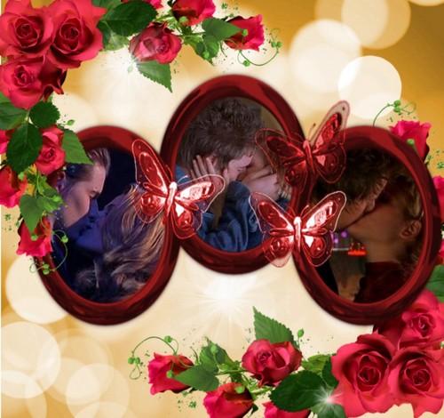 Michael & Maria karatasi la kupamba ukuta titled Michael and Maria