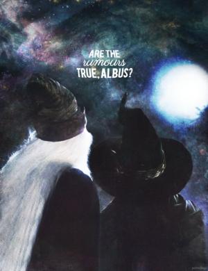 Minerva McGonagall and Albus Dumbledore