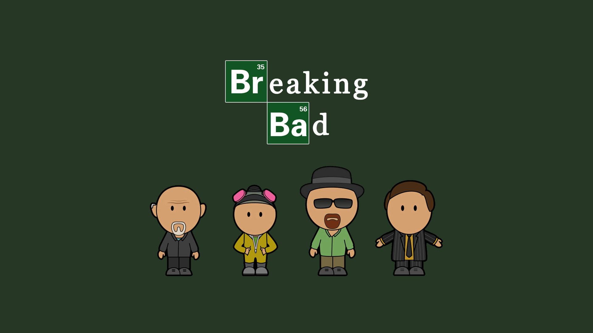 Minimalist Breaking Bad
