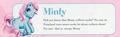Minty Profil