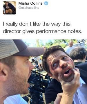 Misha's Tweet