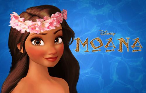 Disney's Moana Hintergrund titled Moana Waialiki CGI