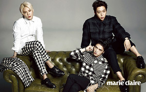 और चित्रो from JYJ for 'Marie Claire'