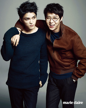 plus photos from JYJ for 'Marie Claire'