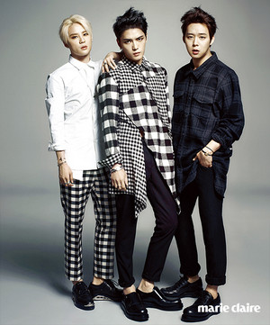 più foto from JYJ for 'Marie Claire'