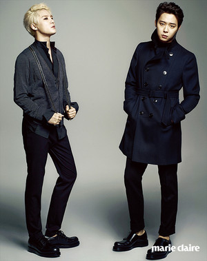 More photos from JYJ for 'Marie Claire'