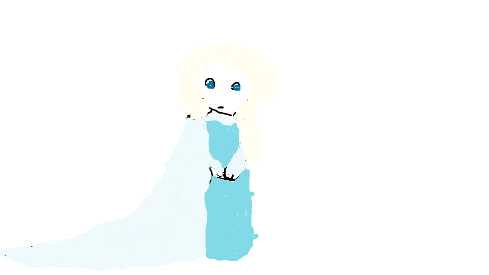 My Elsa Drawing