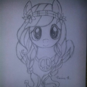 My Fluttershy Drawing