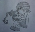 My Little Death The Kid Drawing - soul-eater photo